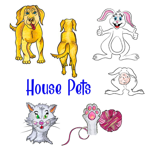 HOUSE PETS GO DADDY